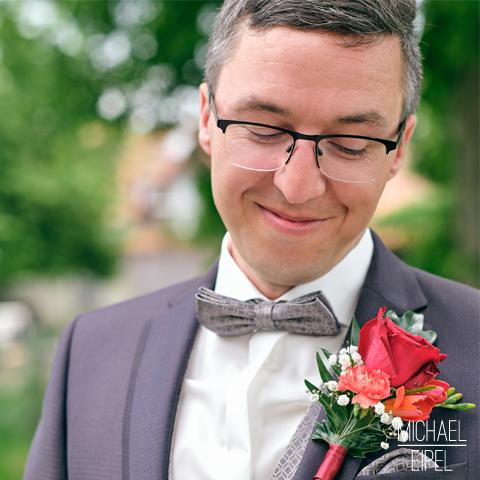Portrait Bräutigam – Hochzeitsfotografie