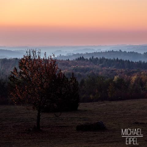 Sonnenaufgang bei Harburg im Herbst – Landschaftsfotografie