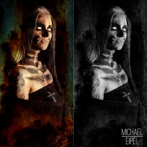 Corpsepaint Halloween – Portrait