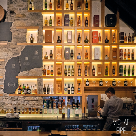 Glenfiddich Whisky Bar – Schottland