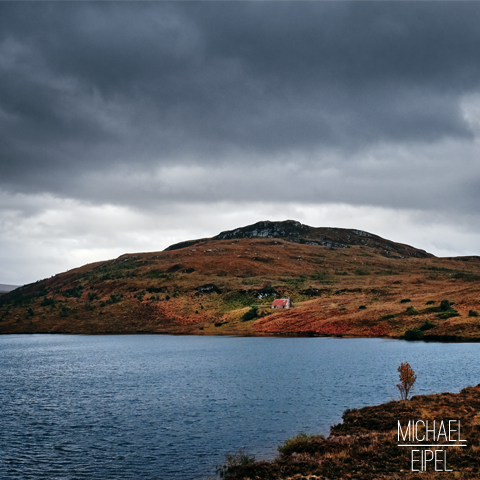 Haus am See in den Highlands – Schottland