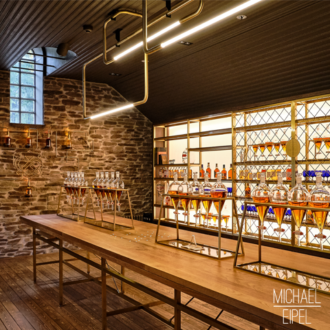 Blending Room Chivas – Strathisla Destillery – Schottland