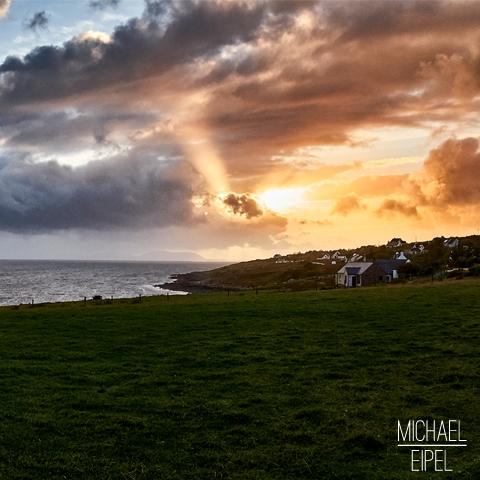Sonnenuntergang in Gairloch – Schottland