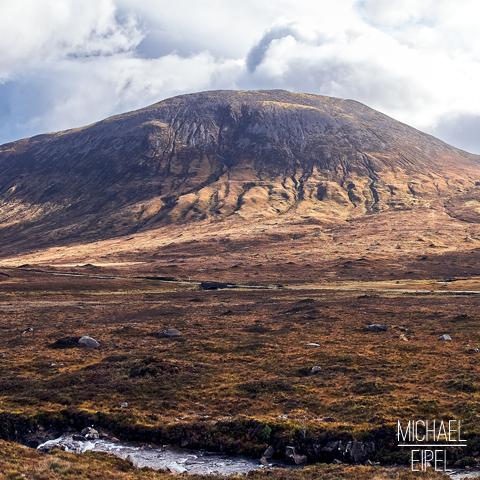 Highlands-Berge Isle of Skye – Schottland