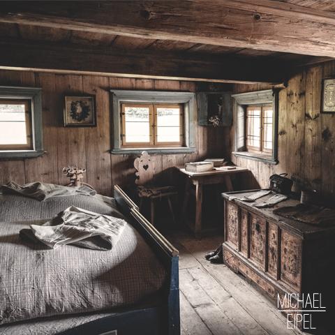 Schlafzimmer altes Bauernhaus – Stilllife