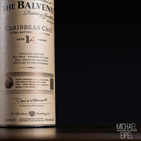 Balvenie Caribbean Cask Whisky – Stilllife
