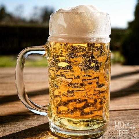 Bierkrug im Sonnenschein – Stilllife